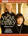 Emma Chambers (left) in The Vicar of Dibley